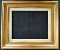 "14"" X 11"" Picture Frame Painting Frame Ornate Gold Finish Wood Wooden Matted"