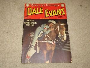 Dale Evans #4 Comic Book VG- 3.5 DC 1949 See My Store