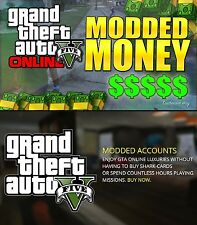 GTA5 MODDED ACCOUNTs l PS4 | AlreadyTransfered READ DESC and LOOK AT 2nd PICTURE
