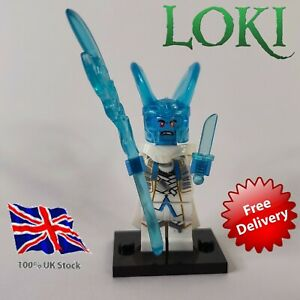 Loki frost giant ice Mini Figure UK Stock