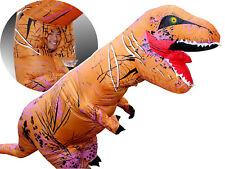 Breathable Inflatable T-Rex Dinosaur Costume, Adult