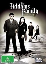 THE ADDAMS FAMILY: Volume 2 DVD TV SERIES CREEPY AND KOOKY BRAND NEW 3-DISCS R4