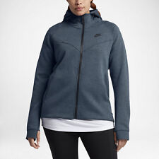 f6d08b1acab3 Nike Sportswear Tech Fleece Womens FZ Hoodie Plus 2x Squadron Blue 863125  464