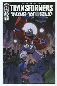 Transformers #29 PLUS #30 (IDW 2021) War World 1:10 RI Variant Set!