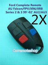 2X Ford AU Falcon/FPV/XR6/XR8 Car Remote Series 2 & 3 99'-02' AU2/AU3
