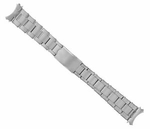 19MM OYSTER WATCH BAND STAINLESS STEEL FOR VINTAGE ROLEX AIRKING 1500 5500 RIVET