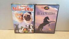The Black Stallion Adventures Of Milo And Otis Letterbox 2 Family Movie Lot DVD