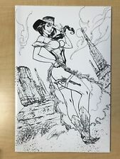 The Legend of OZ Wicked West #1 K J Scott Campbell Sketch Variant Cover NYCC /50