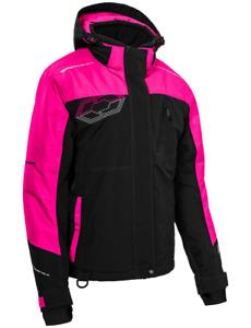 Castle X Women's Phase G3 Jacket Black/Pink Glo Snowmobile Coat S-2XL