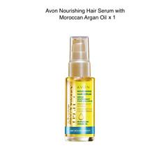 Avon Advance Techniques Moroccan Argan Oil Leave in Treatment 30ml ~ Free P&P