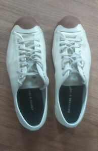 Converse Jack Purcell Leather Trainers Size 9.5 UK