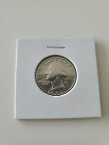 """""""1965"""" Quarter  No Mint Mark, Date is very low on Coin; ungraded"""