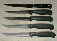 Lot-5 Henckels International Fine Edge Pro & Ever Edge Plus Kitchen Steak Knives