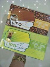 4 BOXES Lipo Slim Coffee or Iced Tea Lemon Juice (Whitening*Slimming*Anti-Aging)