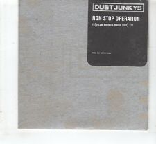 (HL622) Dust Junkys, Non Stop Operation - 1997 unopened DJ CD