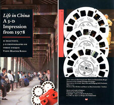 LIFE in CHINA a 3-D Impression 1978 View-Master Packet by Harry Zur Kleinsmiede