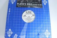 "R Kelly Playa's Only Featuring The Game 12"" Vinyl Record Album Rap Hip Hop"