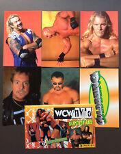 WCW NWO Wrestling Superstars 6 Photocards Goldberg Rowdy Roddy Piper RARE