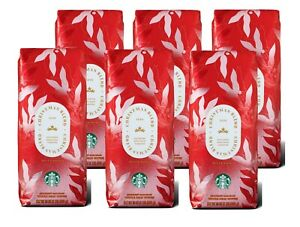 Starbucks Whole Bean Christmas Blend 2020 Rare Aged Sumatra Case of 6/1 lb bags
