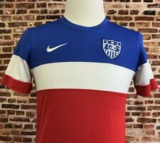 Nike Usa Soccer Men's Small Bomb Pop 2014 World Cup Jersey Rare National Team
