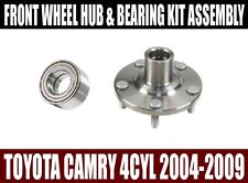Fits:Toyota Camry 4CYL Front Wheel Hub & Bearing Kit Assembly 2004-2009