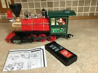 ENGINE AND REMOTE North Pole Express Christmas Train Set EZTEC  G SCALE WORKS