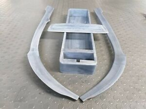 Mercedes Benz Pagoda W113 Wood Trim Set 250sl 230sl 280sl Metalized grey Pagode