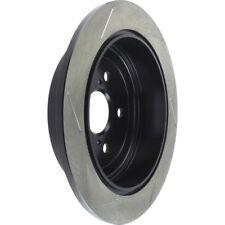 Disc Brake Rotor-Sport Slotted Brake Disc Rear Left Stoptech 126.44166SL