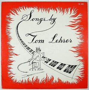 TOM LEHRER Songs By Tom Lehrer  LP 1959  PARODY NM- NM-
