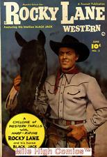 ROCKY LANE WESTERN (1949 Series)  (FAWCETT) #2 Good Comics Book