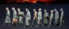 1/35 Resin Figure Model Kit WWII German Prisoners, 1944-45 10 figures