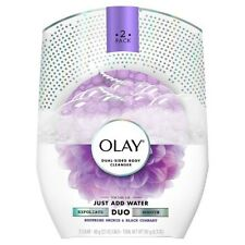 Olay Dual-Sided Body Cleanser, Orchid & Black Currant
