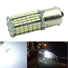 White 1156 BA15S P21W 144-LED Car Tail Backup Light Bulb 12V