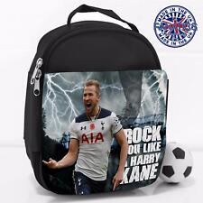 Boys School Lunch Bag Rock It Harry Kane Legend Football Insulated Cool Box LG02
