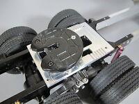 Aluminum 5th Wheel 3D Mount Plate Tamiya 1/14 RC Globeliner Cascadia King Hauler