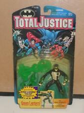 Total Justice Green Lantern W/Ring Energy Disk Laucher Toy Figure Kenner 1996 MC