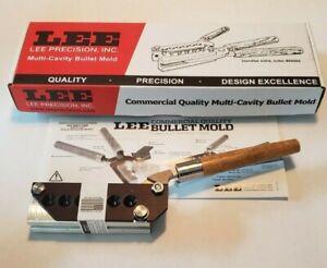 LEE 90387 6 Cavity 9MM Bullet Mold 356-120-TC DIA .356 120 Grain *Insured Ship*
