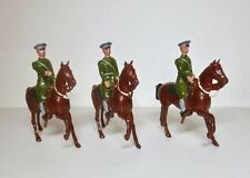 BRITAINS Lead Toy Soldier US CAVALRY SERVICE DRESS MOUNTED AT THE WALK