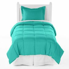 Twin XL 5-Piece Bed in a Bag (Twin XL, Turquoise)