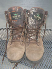 Red Head 600 gram Thinsulate Waterproof Camo hunting Boots sz . 1 youth