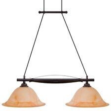 Antik Bronze Hänge Leuchte Landhaus Stil Decken Pendel Lampe Licht Verstellbar