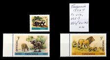 TANZANIA 1984 Officials As Described NJ46