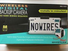 Whistler WBU-900 Digital Wireless Backup Camera NEW IN BOX