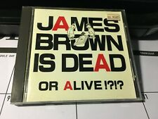 James Brown Is Dead or Alive!? Japan Import CD+Bonus Tracks By L.A. Style