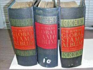 WW, BRITISH COLONIES, 5000+ Stamps hinged in 3 battered Minkus albums