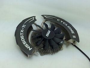 MSI GTX550TI CYCLONE2 Blade 2 Dual Heat Pipe Graphics Radiator