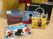 Lego London Bundle - Architecture, Bus, Lester & Hamleys Figs  & Pick A Brick