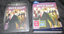 New! Duck Soup Dvd w/ Slipcover - Marx Brothers Classic Political Comedy Groucho
