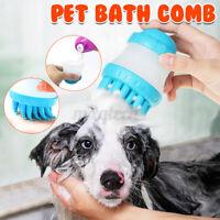 Haustier Hund Katze Bad Bürste Kamm Haar Pflege Putzen Massage Entfernen Locker