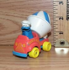 "Playskool 1982 Sesame Street ""Cookie Monster Cookie Mixer Truck"" Toy Car Only"
